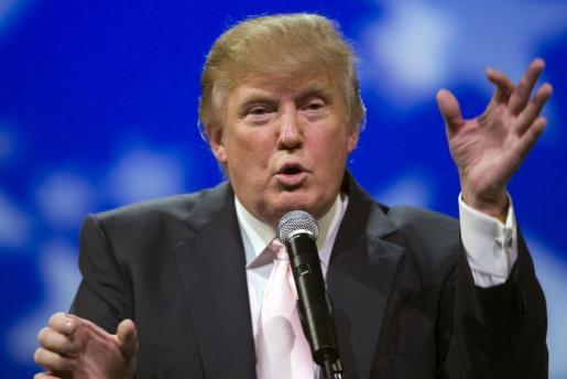 El millonario Donald Trump, en una imagen de archivo.