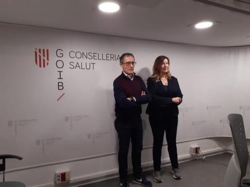Javier Arranz y Patricia Gómez.