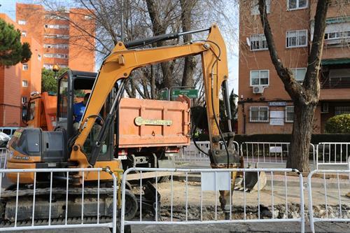 Las obras se reanudarán con restricciones.