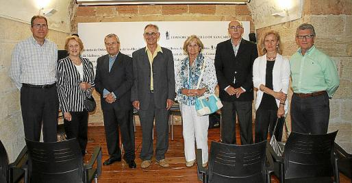 Juan Ramis, Bárbara Taberner, Rafael Durán, Gabriel Verd, Gloria Fluxá, Cristófol Sbert, Margarita Truyols y Joan Seguí.