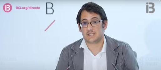 Iago Negueruela, conseller de Model Econòmic i Turisme.