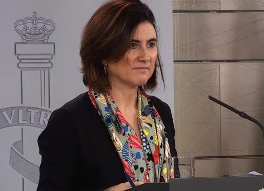 La jefa de área del Centro de Coordinación de Alertas y Emergencias Sanitarias del Ministerio de Sanidad (CCAES), María José Sierra, en una reciente imagen.