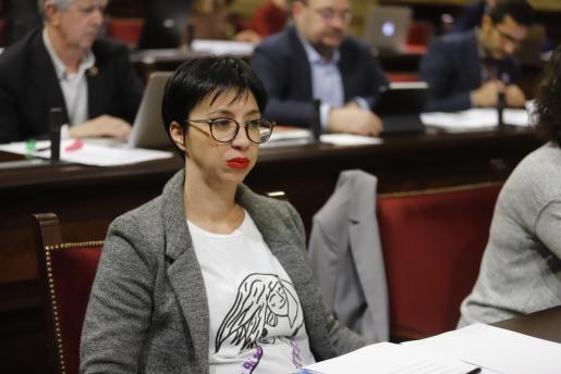 Silvia Cano, diputada del PSIB en el Parlament balear.
