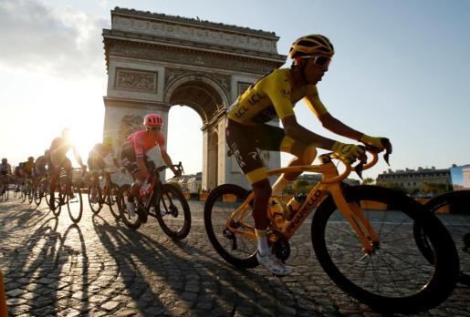 Un momento del Tour de Francia 2019.