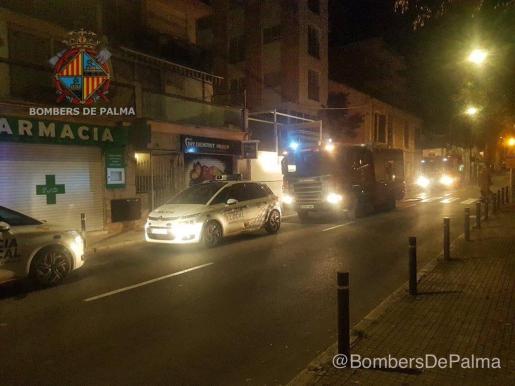En este suceso también han actuado efectivos de la Policía Nacional y Policía de Palma.