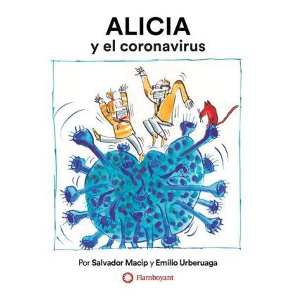 Imagen del cuento que pretende acercar la realidad del coronavirus a los más pequeños.