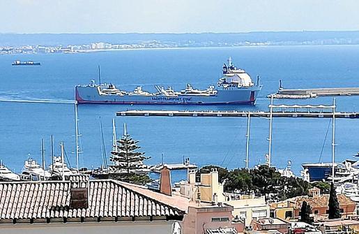 El 'Yacht Express' visitó el puerto de Palma a principios de este mes.