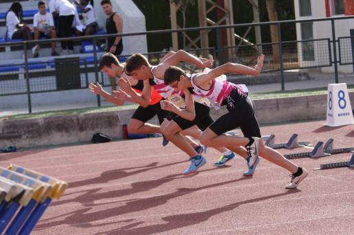 Imagen de una competición de atletismo.