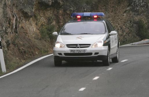 Una imagen de archivo de un coche de la Guardia Civil.