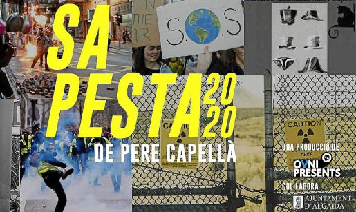 Cartel promocional de 'Sa Pesta 2020', una adaptación del clásico de Pere Capellà.