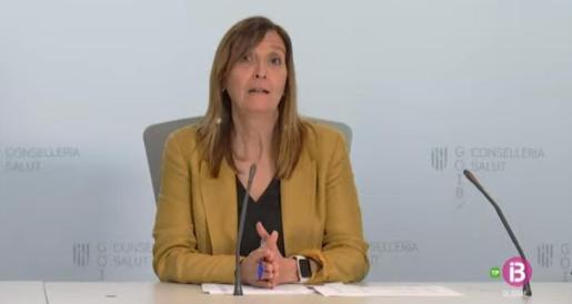 Maria Antònia Oliver, directora general de Salut Pública del Govern balear.
