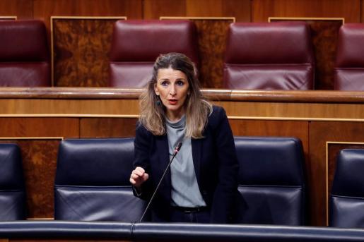La ministra de Trabajo, Yolanda Díaz, en una reciente imagen.