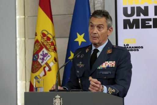 Fotografía facilitada por Moncloa, que muestra al Jefe de Estado Mayor de la Defensa, Miguel Ángel Villarroya.