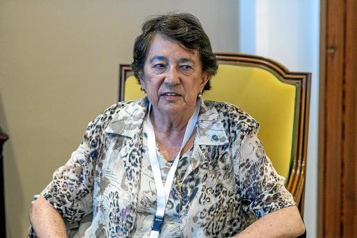 La recientemente fallecida Montserrat Sabater, quien fuera la memoria viva de Formentor.
