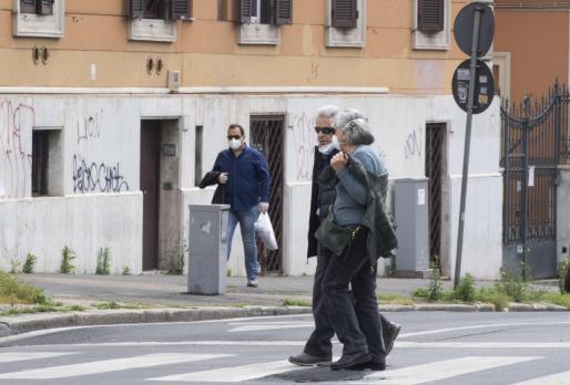 Calles de Roma.