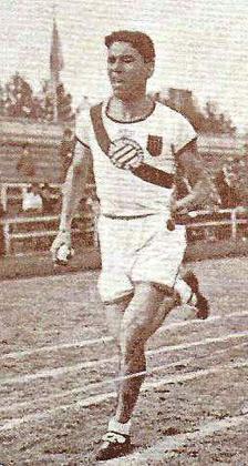 El menorquín Diodoro Pons, durante una competición.