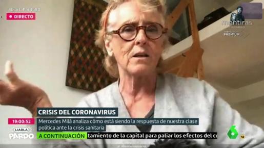 Mercedes Milá en 'Liarla Pardo'.