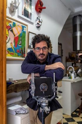 El fotógrafo Bruno Daureo.
