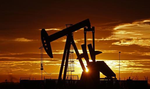 Imagen de un campo petrolífero en Texas.