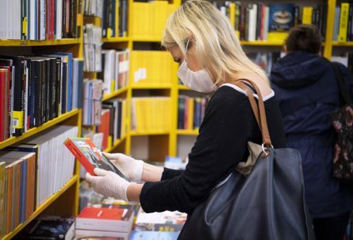 Las librerías están abiertas en Italia.
