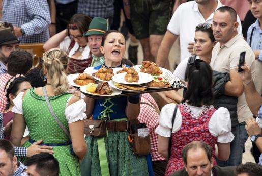 Imagen de una reciente Oktoberfest, la fiesta de la cerveza por excelencia.