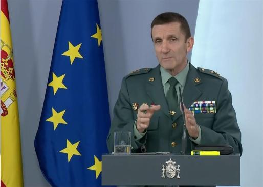El general José Manuel Santiago.