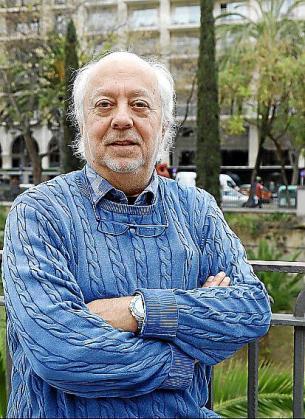 El autor del libro, Bartomeu Mestre 'Balutxo'.