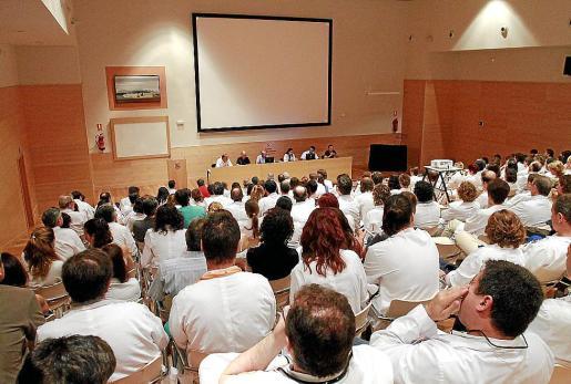 Reunión celebrada el pasado jueves en Son Llàtzer.