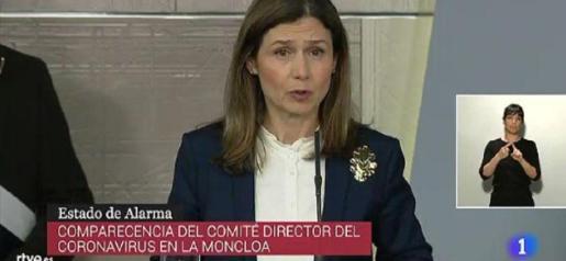 María Jesús Lamas forma parte del Comité Técnico que está al frente de la crisis del coronavirus.