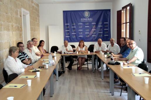 El comité ejecutivo del Simebal se ha reunido esta mañana.