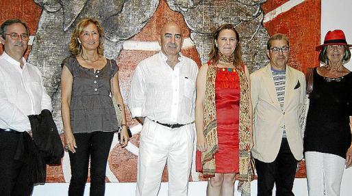 Gabriel Nicolau, Cristina Escape, Joan Bennàssar, Maria Salom, Alejandro Martín y Bárbara Lenmann.