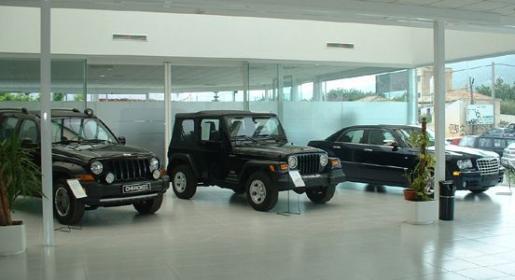 Instalaciones de Chrysler Terrenauto.