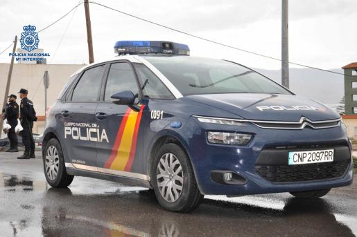 Imagen de un furgón de la Policía Nacional.