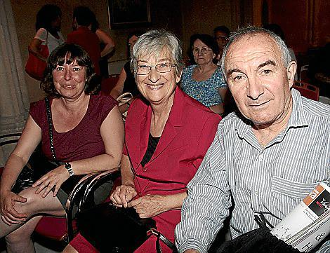 Ana Bergas, Bárbara Genovard y Andreu Maimó.