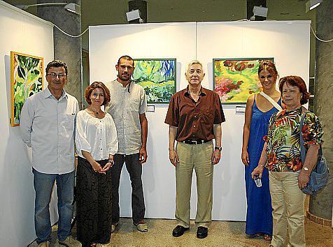 Gonzalo Martínez, Bienve Bonnín, Toni Salom, Sebastián Urbina, María Amengual y María Rodríguez.