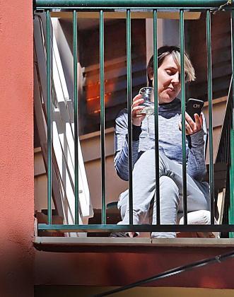 Los balcones, por pequeños que sean, suponen un alivio en estos tiempos de encierro.