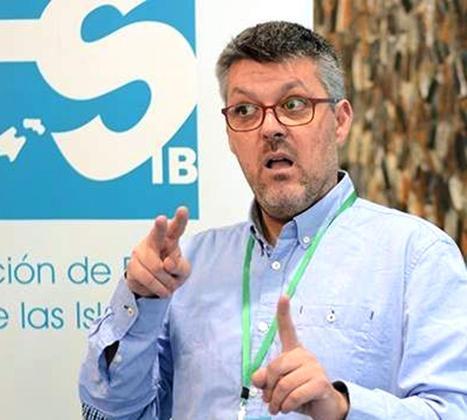 Marcos Pons, presidente de la Federación de Personas Sordas de Baleares.