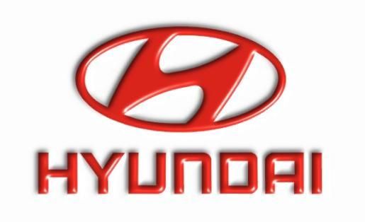 Imagen emblema de Hyundai.