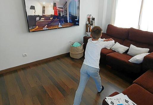 El seguimiento de las pantallas es fundamental en estos días y los ejercicios compartidos tienen un valor añadido.