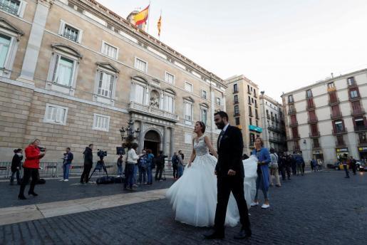 En la fase 2 de la desescalada se permitirán las bodas con un número limitado de asistentes.