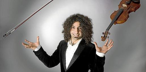 El violinista Ara Malikian tocará en agosto.