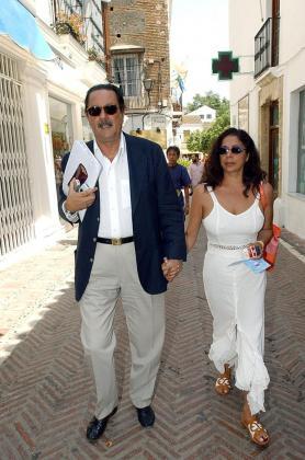 Imagen de archivo de Julián Muñoz e Isabel Pantoja cuando eran pareja.