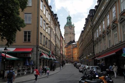 La actividad en las calles de Suecia durante la crisis del coronavirus no se ha paralizado de forma tan estricta como sí ha sucedido, por ejemplo, en España.