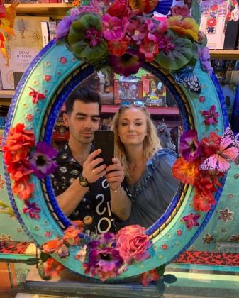 Imagen de Instagram de Joe Jonas y Sophie Turner.