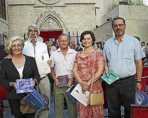 Catalina Llobera, Fernando Palmer, Rafael Rigo, María Adrover y Antoni Oliver.