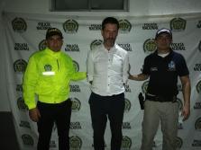 Carlos García Roldán, 'Charly', fue detenido en Colombia