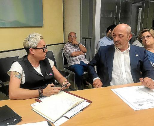 Los enfrentamientos entre Sonia Vivas y Sergio Rodríguez son frecuentes.