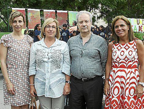 Rosa María Tarragó, María Payeras, Miguel Vives y Sonia Valenzuela.