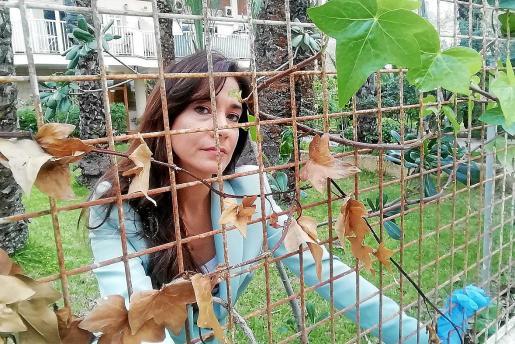 Alejandra está cumpliendo a rajatabla el confinamiento  en su casa de Magaluf.