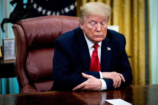 Donald Trump realizó este anuncio en una comparecencia en la Casa Blanca junto al jefe de la Agencia de Medicamentos y Alimentos de Estados Unidos (FDA), Stephen Hahn.